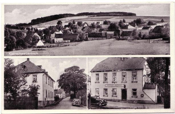 "Postkarte ""Gasthaus Saalfrank"""