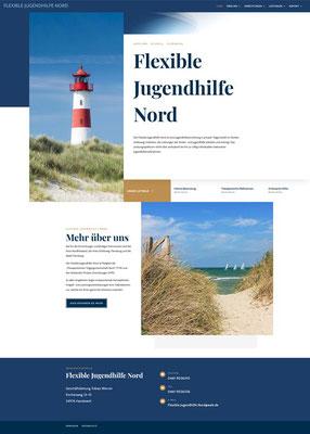 Flexible Jugendhilfe Nord - Webseite
