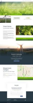 H & N Bürgerwind Webseite