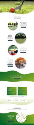 Swingolf Hüllerup Web und Print