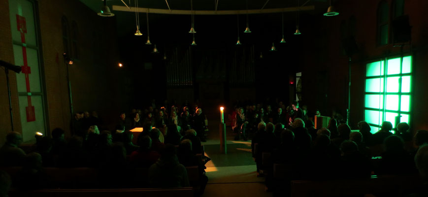 Grünes Tor Rotes Kreuz - Illumination Gregor Linßen im Konzert, 2015