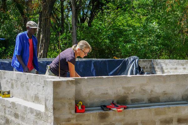 Hippo AquaCulture Farm - Construction of fish ponds