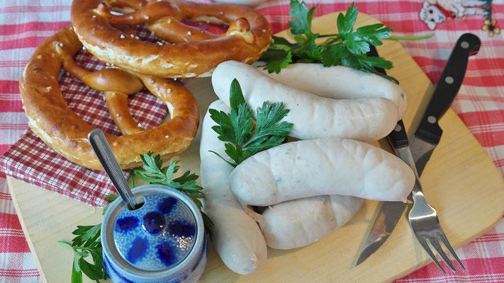 Weißwurst mit Breze