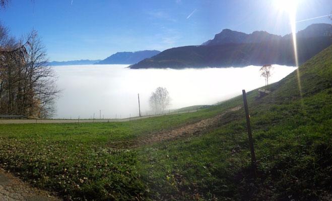 Stoißberg, Blick ins Tal