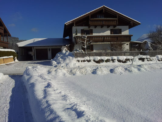 Fewo Nitzinger in Jechling im Winter