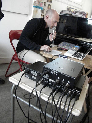 Sébastien Charrieras -  direction artistique, prise de son, mixage et mastering