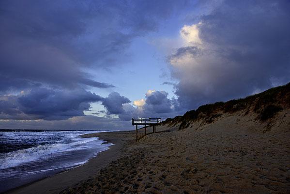 Sylt; Strand, abendstimmung,Landschaftsfoto von Jürgen Müller