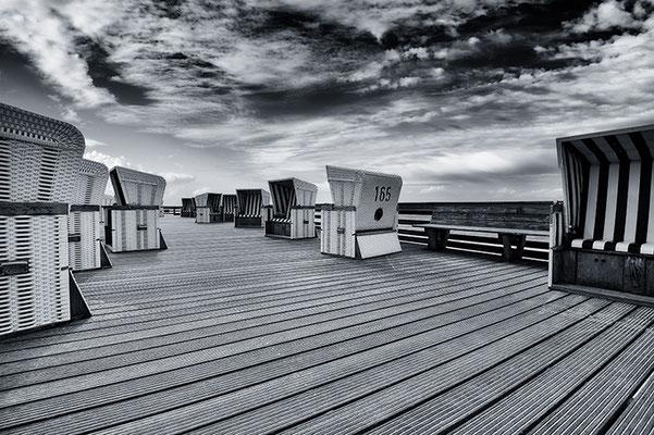 Sylt; Promenade Kampen, Landschaftsfoto von Jürgen Müller