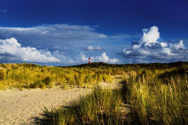 Sylt; Ellenbogen Leuchtturm, Landschaftsfoto von Jürgen Müller