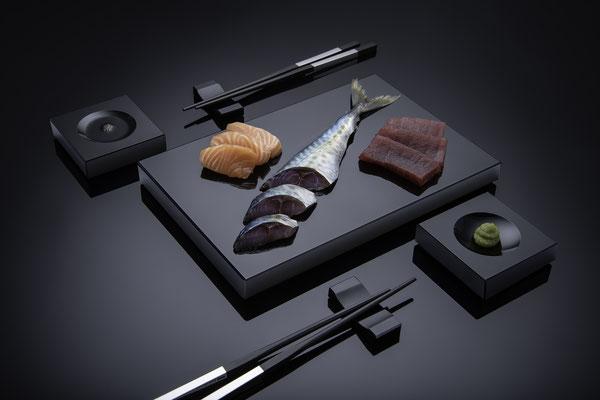 Sushi-Set von Black-Glass
