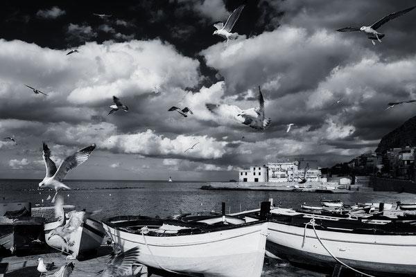 Spiaggia Cammareddi, Aspra, Sizilien, Fotografie Jürgen Müller