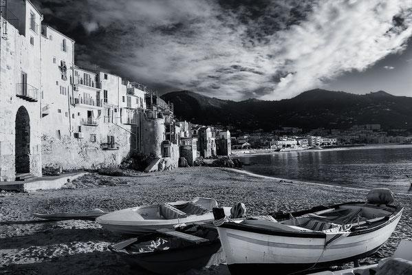 Spiaggetta Del Porto, Cefalù, Sizilien, Fotografie Jürgen Müller