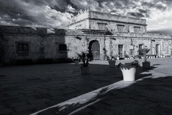 Palazzo di Villadorata, Marzamemi, Sizilien,Fotografie Jürgen Müller