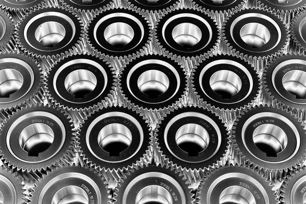 Zahnräder, Getriebebau Nord, Produktfoto Jürgen Müller