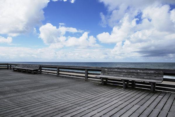 Sylt; Promenade, Landschaftsfoto von Jürgen Müller