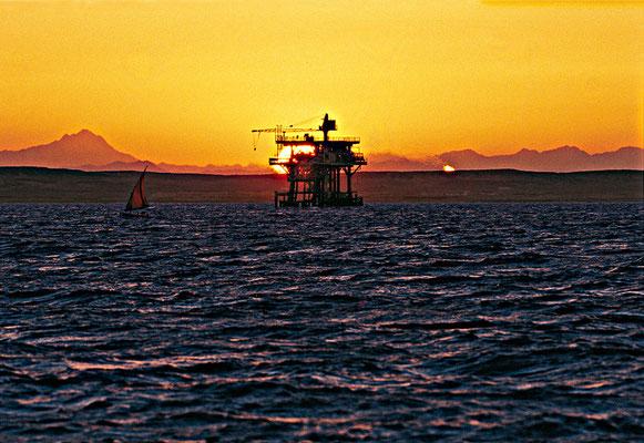 Ölplattform,Golf von Suez, für RWE, Jürgen Müller