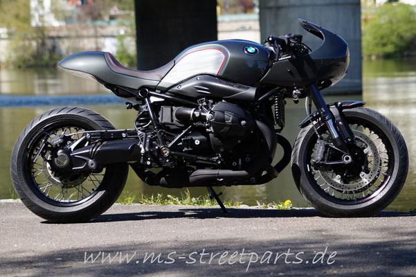 BMW R nineT Umbau Halbschale Cafe Racer Heckteil