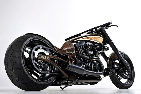 Harley Custom Bike Umbau Insurge
