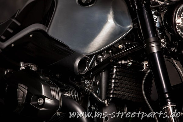 BMW R nineT Silver Racer MS Street Parts
