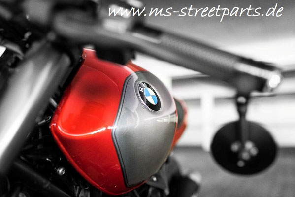 BMW R nineT red-orange Umbau