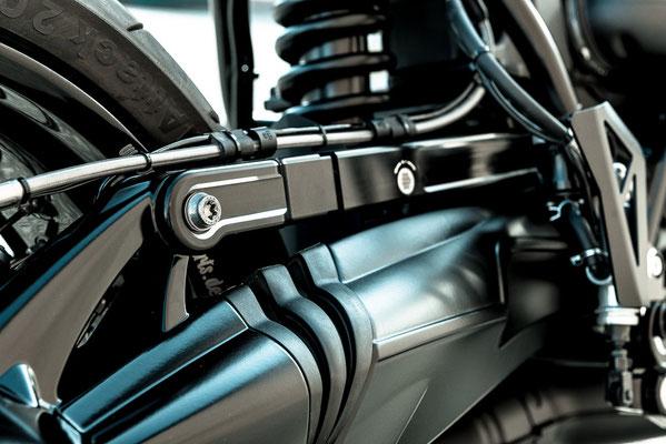 BMW R nineT anthrazit Umbau