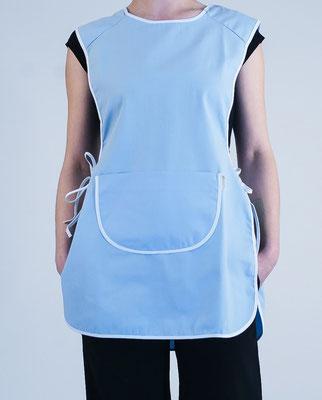blouse pro - kitchenette uni ciel
