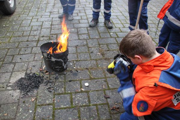 Flämmchen vs. Flamme: der Wärmevergleich