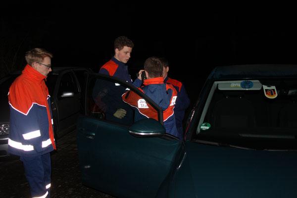 Untersuchen eines Fahrzeuges mittels WBK