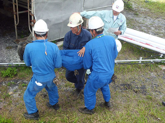 現場非難・救助訓練