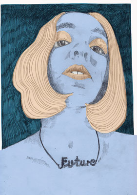 Future, Bernadette Schweihoff, 2020, Illustration