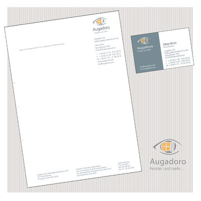 Entwicklung Logo / Gestaltung Geschäftsdrucksachen