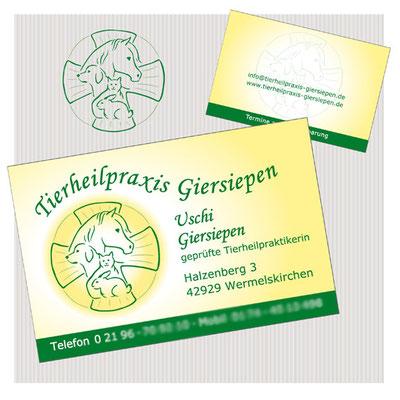 Entwicklung Logo / Gestaltung Visitenkarte