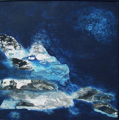 deep blue     40x40cm