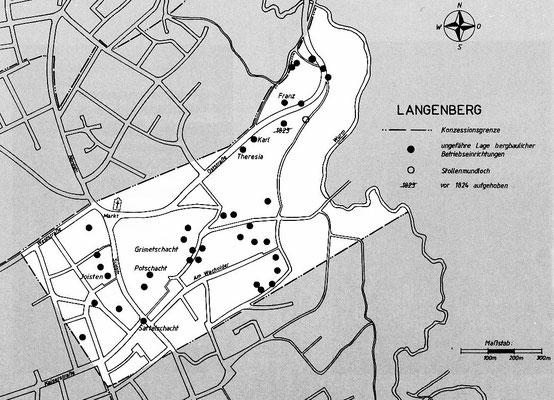 Konzession Langenberg - Quelle: Aretz Bergwerke