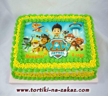 Пищевая картинка для фото-торта в воронеж