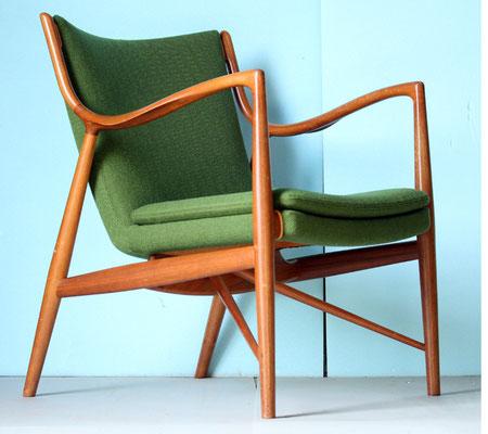 finn juhl no45 張替 北の椅子と様ご依頼