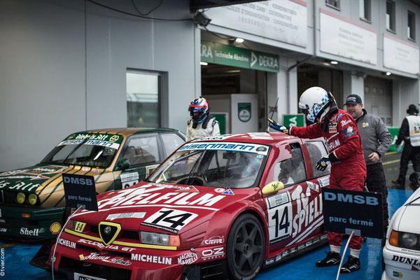 Scuderia GT Alfa 155Ti ITC siegt erneut am Nürburgring