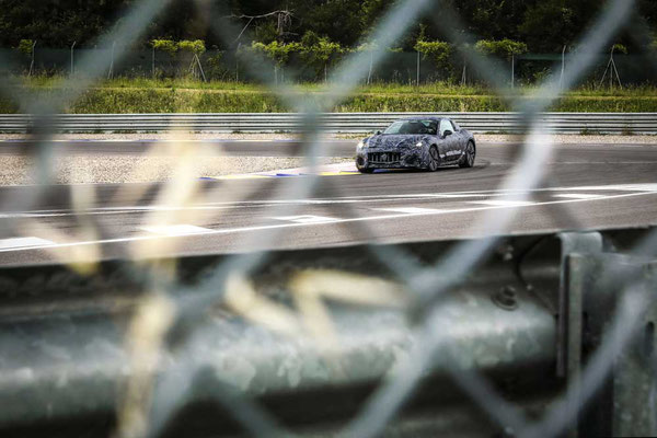 Maserati GranTurismo Prototyp 2021