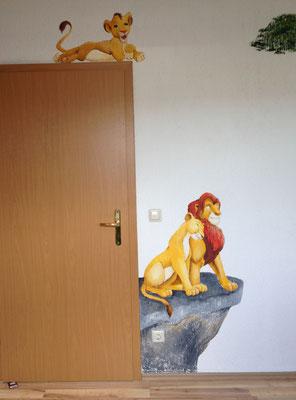 Wandbild Lion King
