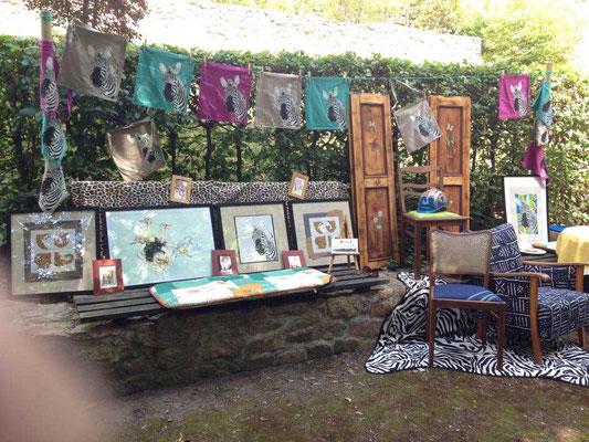 Ausstellung zum Parkfest in Diesbar-Seußlitz