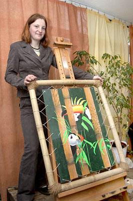 Ausstellung im Kunstcafé Art in Riesa 2005