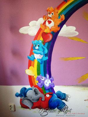 Wandbemalung Kinderzimmer