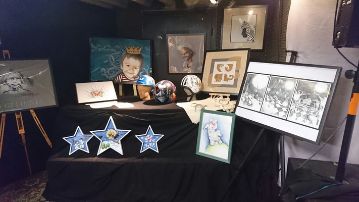 Ausstellung im Kinder-und Jugendtreff Kombi