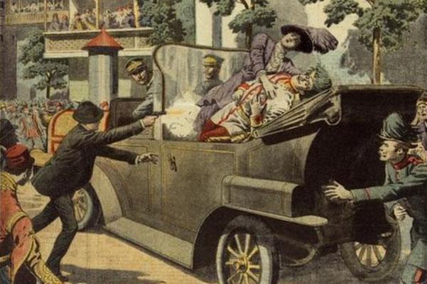 l'atemptat de sarajevo - juny de 1914