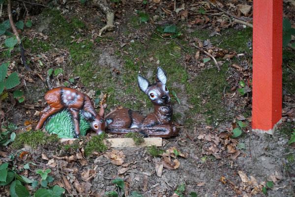 Bambi mit Kitz