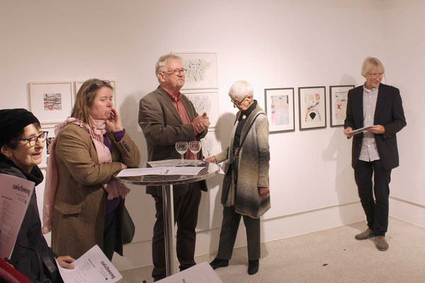 Vernissage «zeichnen» 1. November 2019