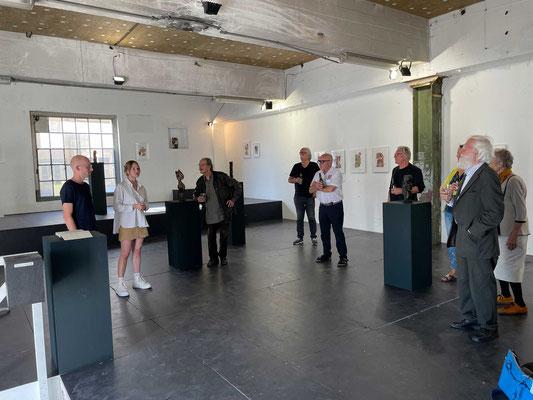 Die Ausstellung im Trafohaus ist die dritte Einzelausstellung von Noé Herzog, dies in enger Zusammenarbeit mit Meret Ann Bauerhuit.