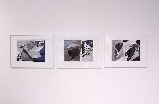 Franz Anatol Wyss – Über Stock und Stein, Über Land, Landschaft, Bleistift auf Papier