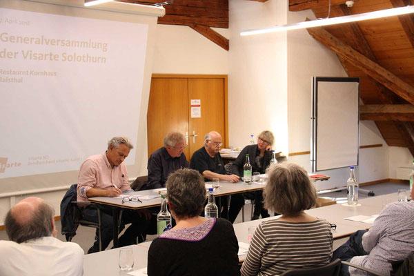 Generalversammlung Visarte Solothurn 2018