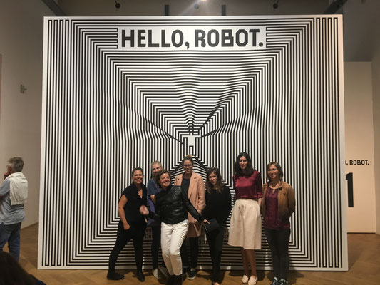 First SALOON meeting at the Hello Robot exhibition in September 2017